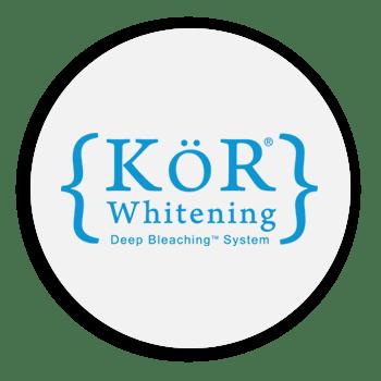 KOR Whitening Deep Bleaching System logo