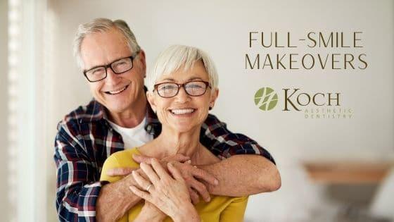 Full-smile makeover testimonials