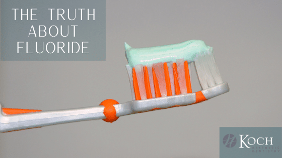 Fluoride Toothpaste on a tooth brush